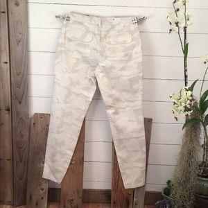 William Rast Skinny Cargo Camouflage Jeans NWT